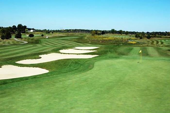オハイオ州コロンバス、ダブリン周辺のゴルフ場