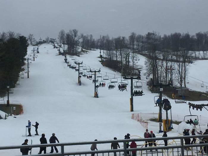 オハイオ州コロンバス、ダブリン周辺のスキー場