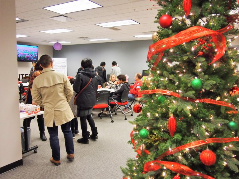 第16回 Nihongo-de-Columbus交流会 2019年 12月 Christmas Party in the office