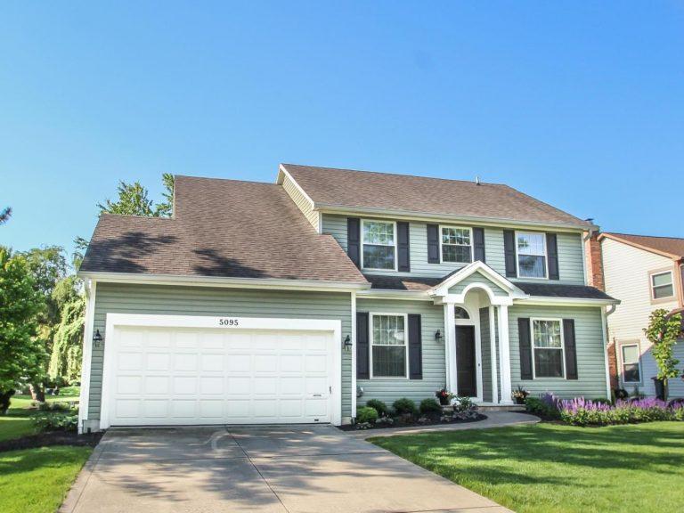 ヒリアード学区【10月下旬入居可】一軒家、エイブリー小、ウィーバー中、デイビッドソン高 $2,200 (確認中)5095 Highland Meadows Drive
