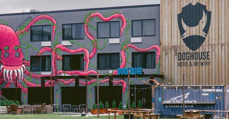 世界初、ブルーワリが始めたホテル!Doghouse