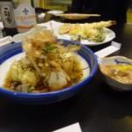 agedashi,shiokara